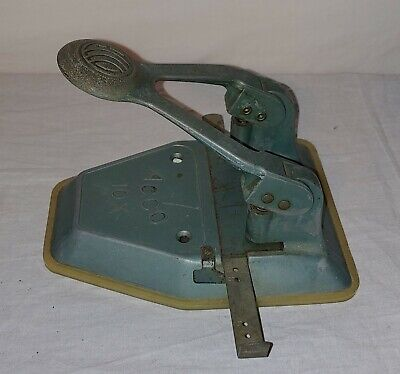 Vintage Acco 10x 2-hole Hole Punch Used- Desk Top Office Crafting Home