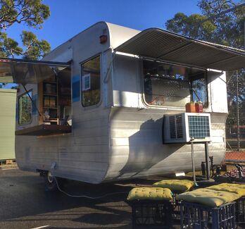 Funky caravan Bundeena Sutherland Area Preview