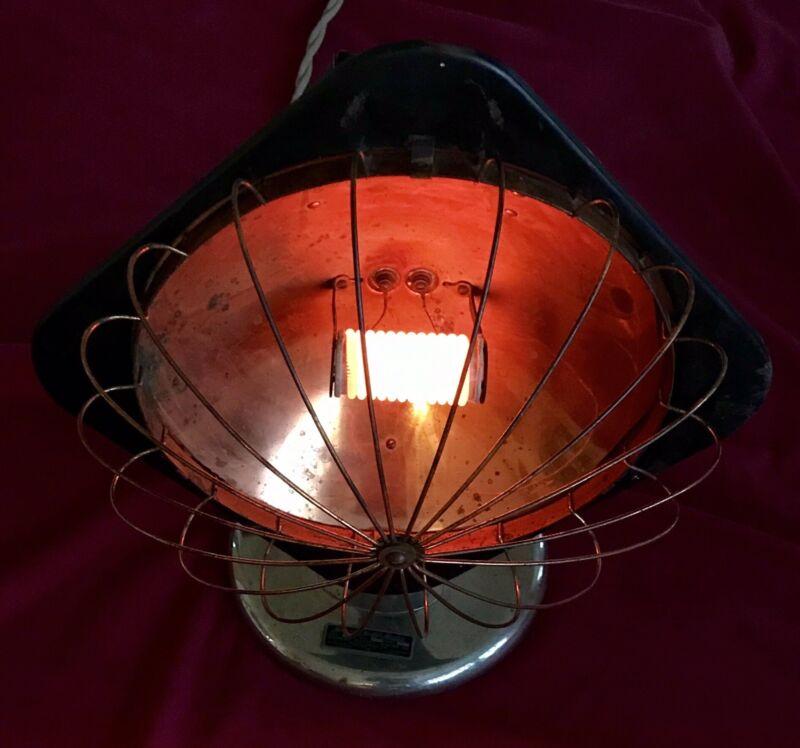 Antique Hotpoint Hedlite Heater Glowing Coil Copper 600 Watt, 1200 Degree, 1917