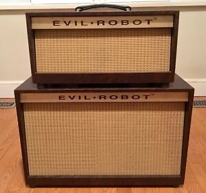 EVIL ROBOT 'Handwired' tube amplifier head and cab