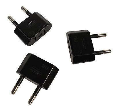 2X Reiseadapter Mini US-Stecker Adapter Typ A USB Reise-Stecker f/ür die USA China /& weitere L/änder CozyHome Travel Plug Reise-Adapter