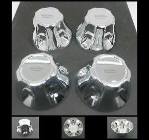 (4) Chrome Trailer Wheel Hub Caps 5 x 4.5