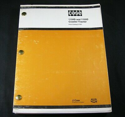 Case 1150d 1155d Bulldozer Dozer Crawler Tractor Parts Manual Book Catalog List