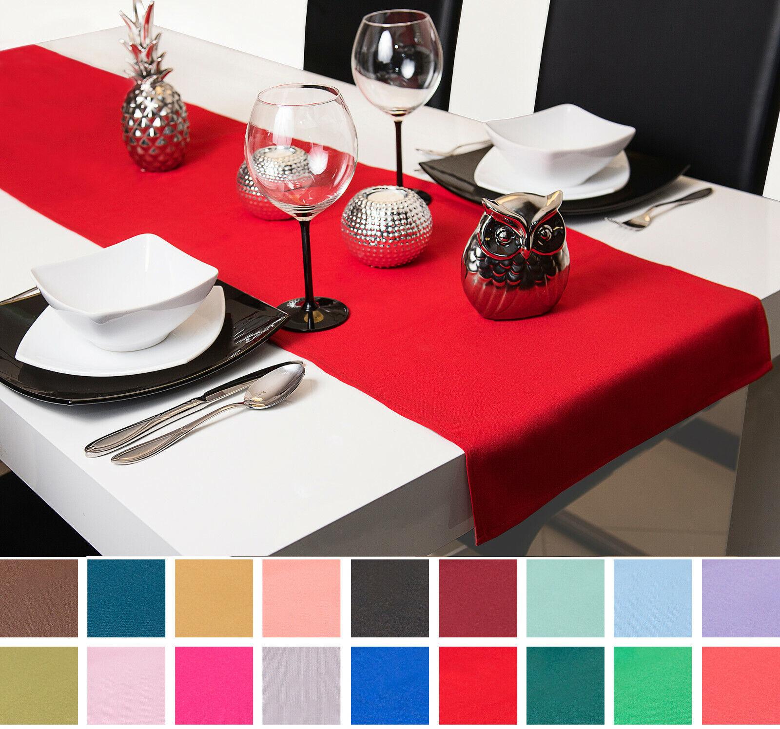 Tischdecke Tischläufer Tischband Tischtuch 40x120 40x140 40x150 Blumen