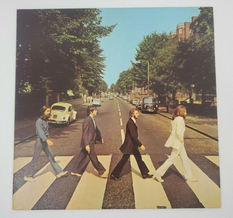 BEATLES ABBEY ROAD LP APPLE 1969 ORIGINAL 1ST PRESS EXCELLENT ACTUAL PICTURES