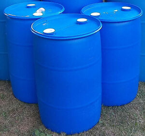 205 Litres Drum 44 Gallon Plastic Closed Top Food Grade
