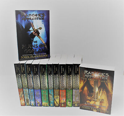 RANGER'S APPRENTICE The Complete Series by John Flanagan Set of Paperbacks 1-12