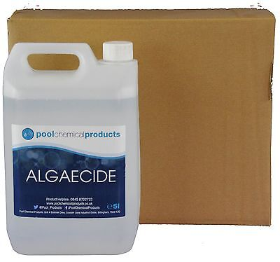 20L of Algaecide for Swimming Pools, Spas & Hot Tub Chemicals