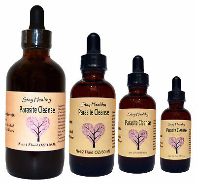 Herbal Parasite Cleanse - Parasite Cleanse - Liquid Herbal Extract Premium Quality Tincture - Very Strong
