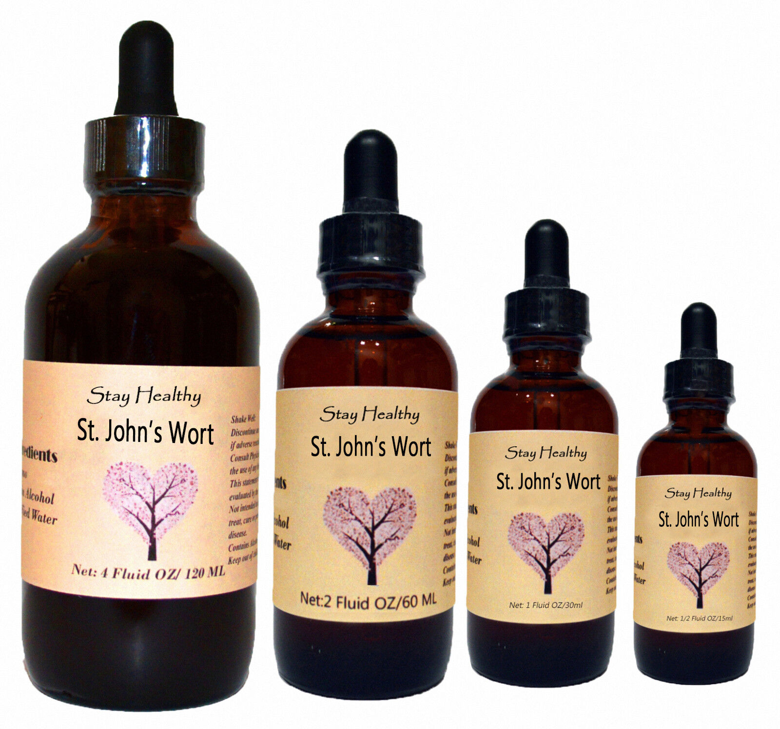 St Johns Wort Liquid Herbal Extract Premium Quality Tincture