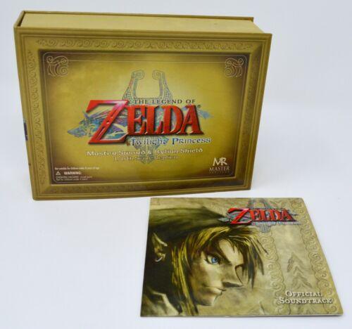 The Legend of Zelda Twilight Princess Master Sword & Hylian Shield Replica w/cd