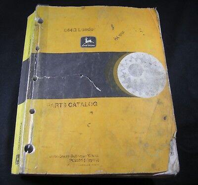 John Deere 644g Loader Tractor Parts Manual Book Catalog List Pc2365
