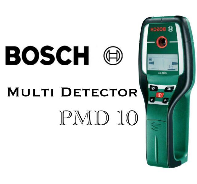 Bosch Digitales Ortungsgerät PMD 10 detektiert die gängisten Materialien
