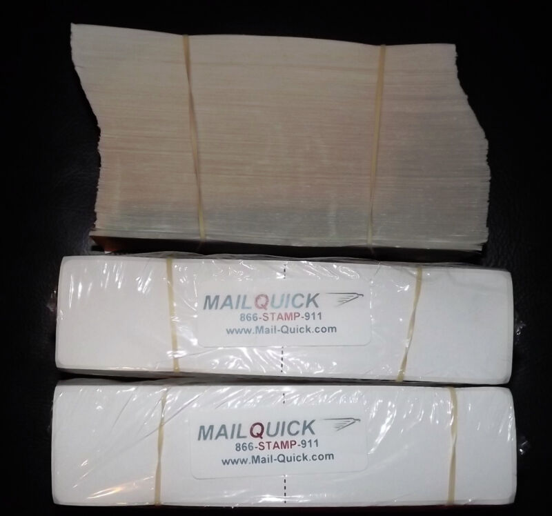 MailQuick Postage Meter Long Half Tapes