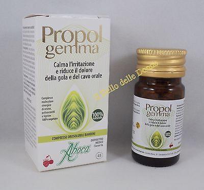 ABOCA PROPOLGemma 45 Compresse Orosolubili Bambini propoli riduce dolore gola