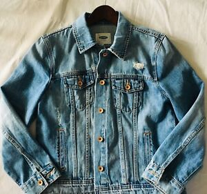 NEW!! Distressed Denim Jacket