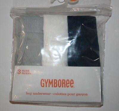NEUF GYMBOREE Pack de 3 slip sous-vêtement garçon neuf avec étiquettes taille 2T