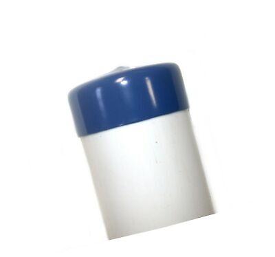 Blue Vinyl Round Stretchable Pipe End Cap 2-3/8 2.375 ID X 1 Deep PVC 1... - $39.99