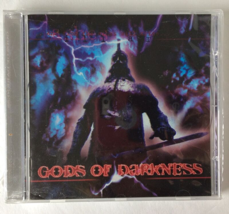 Gods Of Darkness CD Heavy Metal Sealed  Compilation