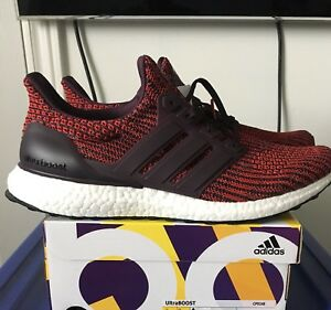 Ultraboost 4.0 Red/Burgundy Ds New In Box Sz 9.5