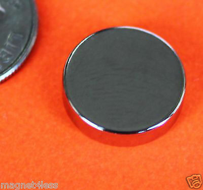 10 Strong 12x18 Inch Grade N42 Rare Earth Neodymium Disc Photo Craft Magnet