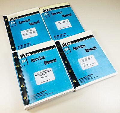 Lot International Hydro 186 Tractor Service Repair Shop Manual Ih Engine Tranny