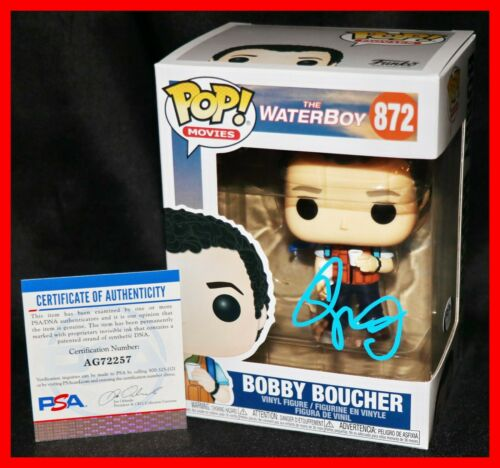 🔥 Rare Adam Sandler Signed Bobby Boucher The Waterboy Funko POP PSA JSA 🔥