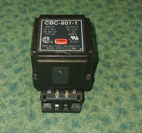 Wagner Electric CLUTCH/BRAKE POWER SUPPLY CBC-801-1 (43532-C2)
