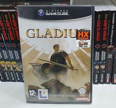 GLADIUS NINTENDO GAMECUBE GAME CUBE WII PAL ITALIANO NUOVO HALIFAX LUCAS NUOVO