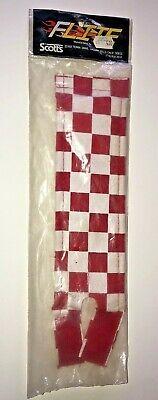 RED WHITE Checkerboard Vintage BMX VDC,SE,GJS, NOS OG California Lite Stem pad