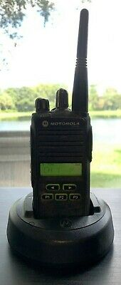 Motorola Cp185 Two Way Radio With Batteryand Charger Free Shipping