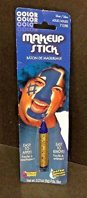 BLUE STICK MAKEUP Sport School Spirit Cheerleader Parade Team Face Painting NEW - Team Spirit Face Paint