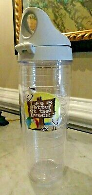 Tervis Insulated Cup 24 Oz - Life Is Better At The Beach With Lid