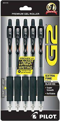 Pilot G2 Premium Roller Ink Rolling Ball Gel Pens Extra Fine Quality