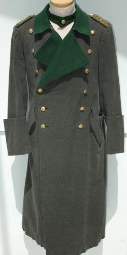 German WWII  ORIGINAL Forestry Generals Greatcoat   NICE!!!!!!!!!!!!!!!!!!