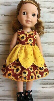 Sunflower Dress fits 14.5
