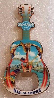 Hard Rock Cafe MALL OF AMERICA Bottle Opener Magnet (Mall Of America Open)
