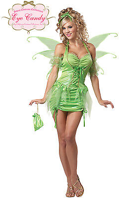 Sexy Tinkerbell Fairy Adult Costume
