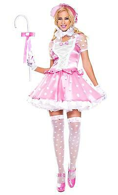 Music Legs  little bo peep Halloween Costume Dress 70764 (Peep Costumes)