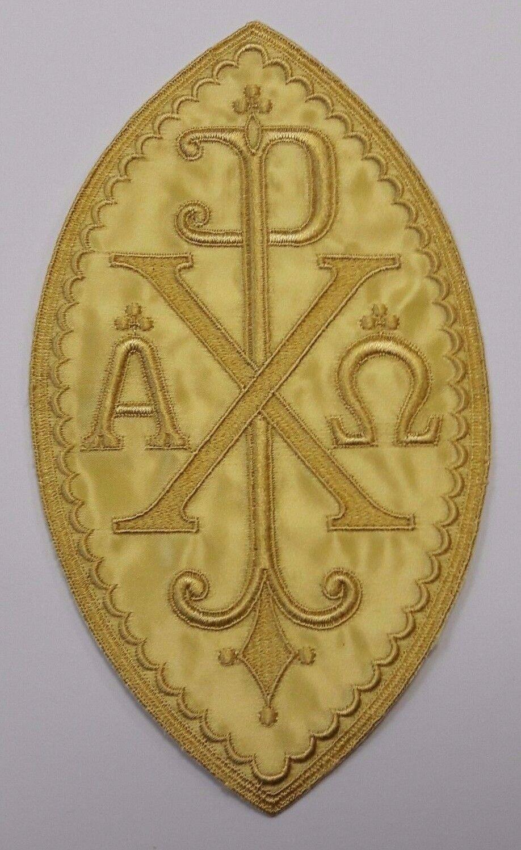 Christogram ao chi rho px cross chasuble applique christian christogram a o chi rho px cross chasuble applique buycottarizona