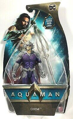"Aquaman Action Figure DC Comics Movie Collection Orm Ocean Master 6"" Mattel Toy"