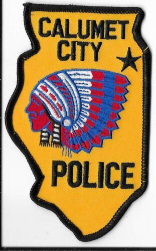 Calumet City Police Department, Illinois Shoulder Patch