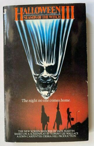 1982 HALLOWEEN III JOHN CARPENTER PBO MOVIE TIE IN JOVE Season of the Witch 002