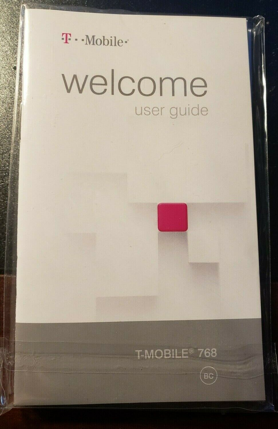 как выглядит T Mobile 768 Users Manual English Cell Phone Guide Instructions Sealed New фото