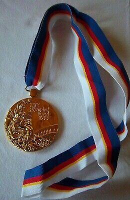 Goldmedaille  XXIV. Olympische Spiele SEOUL 1988 / am Band  !!  EXTREM SELTEN