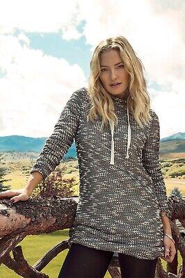 Fabletics NWT Yukon Hooded Sweater Dress Women's Size Medium Long Sleeve Lined