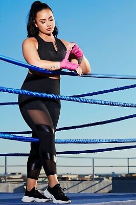 Fabletics Demi Lovato Ultra High Waisted Statement Legging Small $79.95