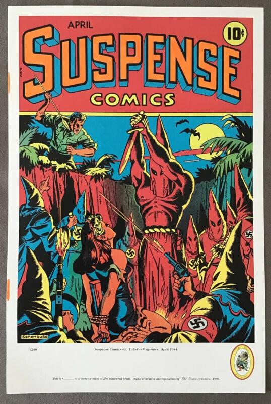 Alex Schomburg Suspense Comics #3 LIMITED EDITION PRINT Comic Archives 1996