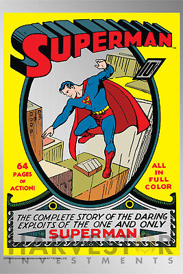 2018 Dc Comics   Superman  1   Premium Silver Foil 35 Grams   Solid Silver