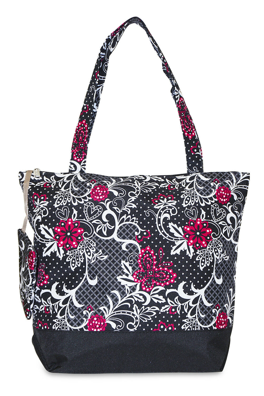 Butterfly Canvas Tote Bag Purse Handbag Travel Shopping Larg